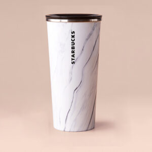 WH marble tumbler